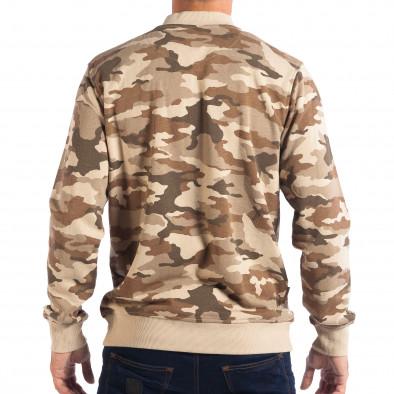 Ανδρικό φούτερ παραλλαγής με φερμουάρ CROPP lp080818-24 3