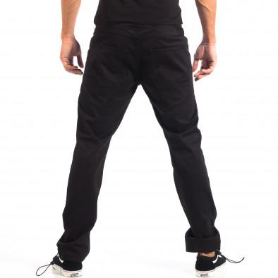 Ανδρικό μαύρο παντελόνι CROPP lp060818-93 3