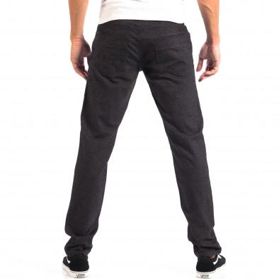 Ανδρικό μαύρο Slim παντελόνι RESERVED lp060818-111 3