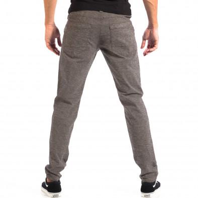 Ανδρικό γκρι Slim παντελόνι RESERVED lp060818-105 3