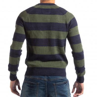 Ανδρικό γαλάζιο πουλόβερ RESERVED lp290918-105 3