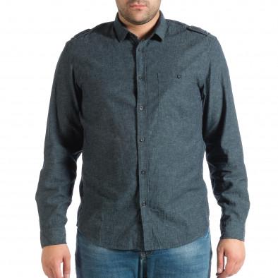 e862266af7c8 Ανδρικό γαλάζιο πουκάμισο RESERVED lp290918-175 - Fashionmix.gr