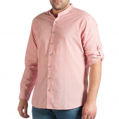 c0904b3b4b6a Ανδρικό ροζ πουκάμισο RESERVED lp290918-183 - Fashionmix.gr