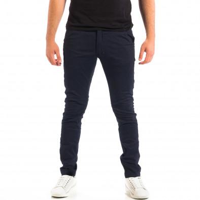 Ανδρικό γαλάζιο παντελόνι CROPP lp060818-126 2