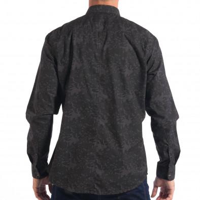 Ανδρικό γκρι πουκάμισο παραλλαγής RESERVED lp070818-117 3