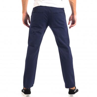 Ανδρικό μπλε Chino παντελόνι RESERVED lp060818-91 3