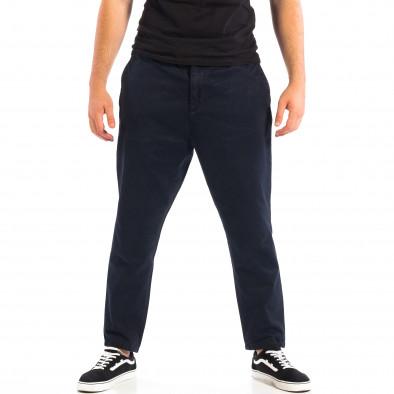 Ανδρικό μπλε Cropped παντελόνι RESERVED lp060818-87 2