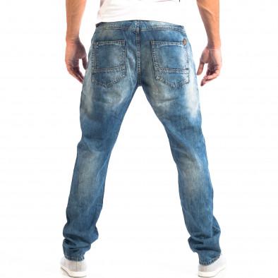 Ανδρικό γαλάζιο τζιν House lp060818-52 3