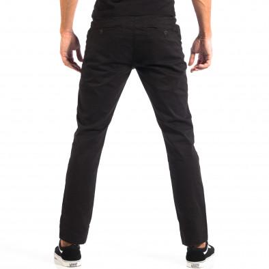 Ανδρικό μαύρο Chino παντελόνι CROPP lp060818-92 3