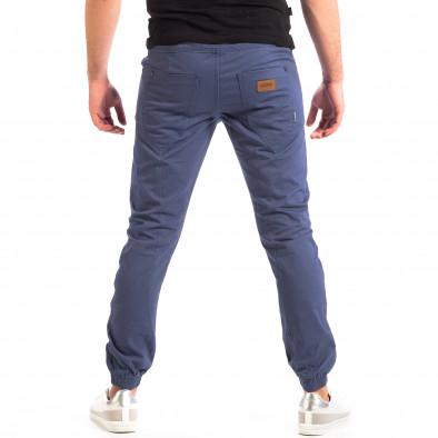 Ανδρικό γαλάζιο παντελόνι CROPP lp060818-136 3