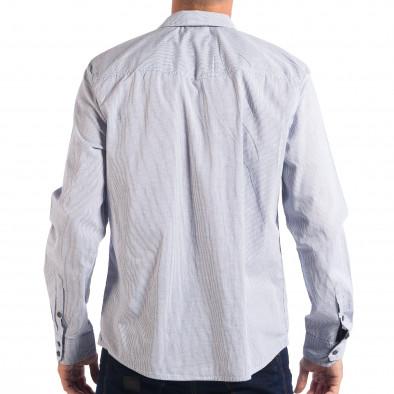 Ανδρικό λευκό πουκάμισο CROPP lp070818-131 3