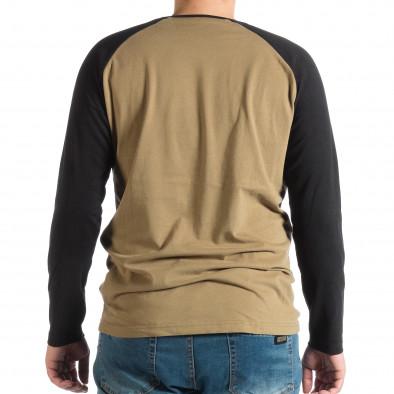 Ανδρική πράσινη μπλούζα House lp290918-124 3