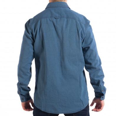 6fdb39b719c3 Ανδρικό γαλάζιο πουκάμισο RESERVED lp070818-142 - Fashionmix.gr
