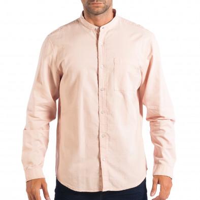 Ανδρικό ροζ πουκάμισο Regular fit RESERVED lp070818-124 2