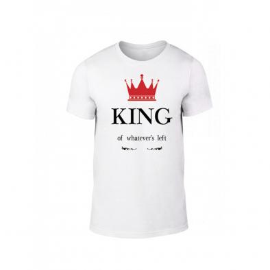 1f55ff8628a7 Κοντομάνικη μπλούζα King Queen λευκό Χρώμα Μέγεθος XXL TMNLPM113XXL ...