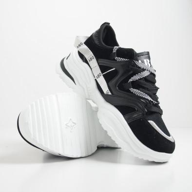 Ανδρικά Chunky μαύρα αθλητικά παπούτσια  it130819-29 5