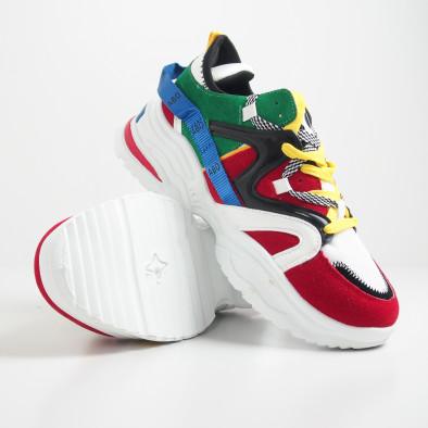 Ανδρικά Chunky πολύχρωμα αθλητικά παπούτσια it270819-1 5