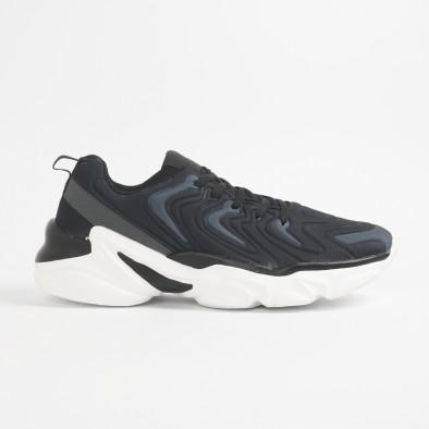 Ανδρικά μαύρα αθλητικά παπούτσια  it201219-4 3