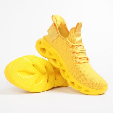 Ανδρικά κίτρινα αθλητικά παπούτσια Rogue  it281119-3 5
