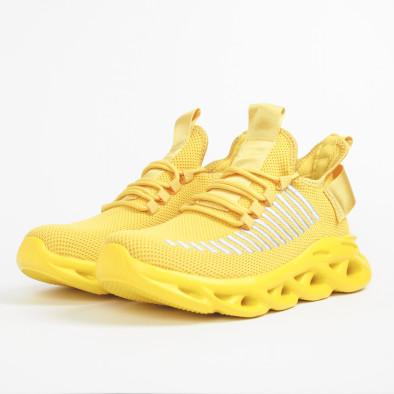 Ανδρικά κίτρινα αθλητικά παπούτσια Rogue  it281119-3 4