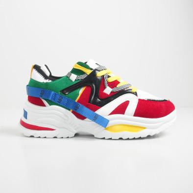 Ανδρικά Chunky πολύχρωμα αθλητικά παπούτσια it270819-1 3