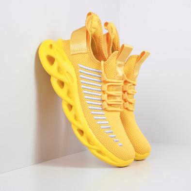 Ανδρικά κίτρινα αθλητικά παπούτσια Rogue  it281119-3 2