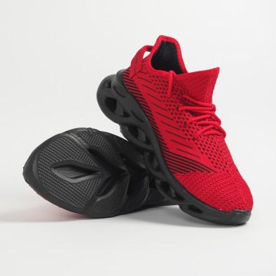 Ανδρικά κόκκινα μελάνζ αθλητικά παπούτσια Rogue it201219-1 5