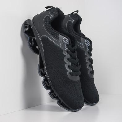 Ανδρικά μαύρα αθλητικά παπούτσια Blade it260919-32 4
