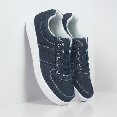 Ανδρικά ντένιμ  sneakers ελαφρύ μοντέλο it251019-2 4