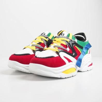 Ανδρικά Chunky πολύχρωμα αθλητικά παπούτσια it270819-1 4