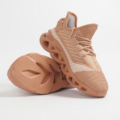 Ανδρικά μπεζ μελάνζ αθλητικά παπούτσια Rogue it201219-3 4