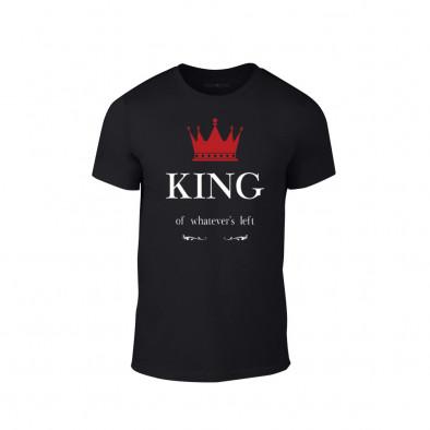 Κοντομάνικη μπλούζα King μαύρο Χρώμα Μέγεθος XXL TMNLPM114XXL 2