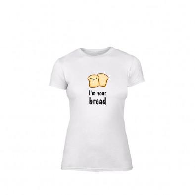 Γυναικεία Μπλούζα Bread λευκό Χρώμα Μέγεθος L TMNLPF099L 2