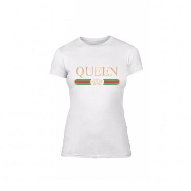 Γυναικεία Μπλούζα Fashion King Queen λευκό Χρώμα Μέγεθος L TMNLPF244L 2