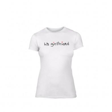 Γυναικεία Μπλούζα His girlfriend λευκό Χρώμα Μέγεθος L TMNLPF060L 2