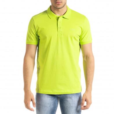 Ανδρική πράσινη πολο Clang tr080520-55 2