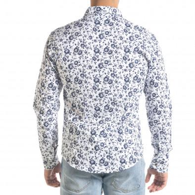 Ανδρικό λευκό πουκάμισο Flyboys tr240420-37 3