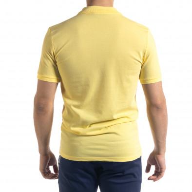 Ανδρική κίτρινη πολο Lagos tr110320-17 3