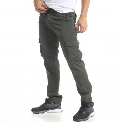 Ανδρικό πράσινο παντελόνι cargo Blackzi tr201120-3 2