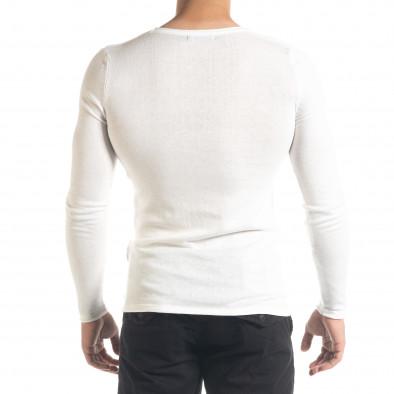 Ανδρική λευκή μπλούζα Lagos tr240420-13 3