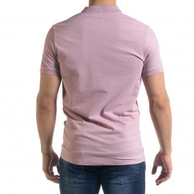Ανδρική ροζ πολο Clang tr110320-74 3