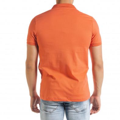 Ανδρική πορτοκαλιά πολο Clang tr080520-54 3