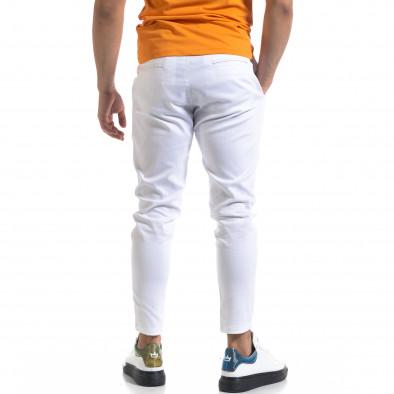 Ανδρικό λευκό παντελόνι Open tr110320-121 3