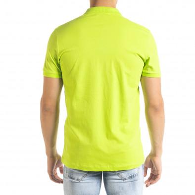 Ανδρική πράσινη πολο Clang tr080520-55 3