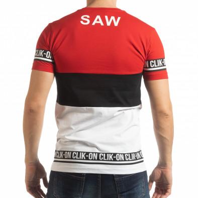Ανδρική κοντομάνικη μπλούζα Free RBW tsf190219-47 3