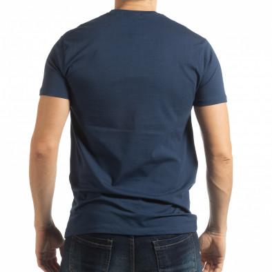 Ανδρική μπλε κοντομάνικη μπλούζα Originals tsf190219-80 3