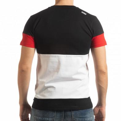Ανδρική πολύχρωμη κοντομάνικη μπλούζα Move tsf190219-46 3