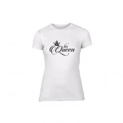 Γυναικεία Μπλούζα King & Queen λευκό Χρώμα Μέγεθος L TMNLPF013L 2