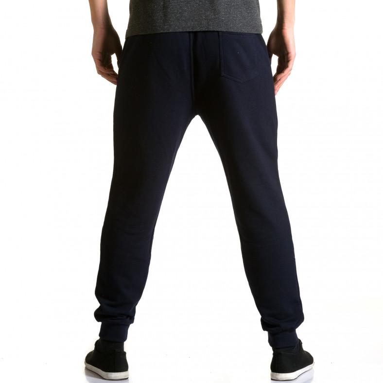 Ανδρικό γαλάζιο παντελόνι jogger Enos Enos 5