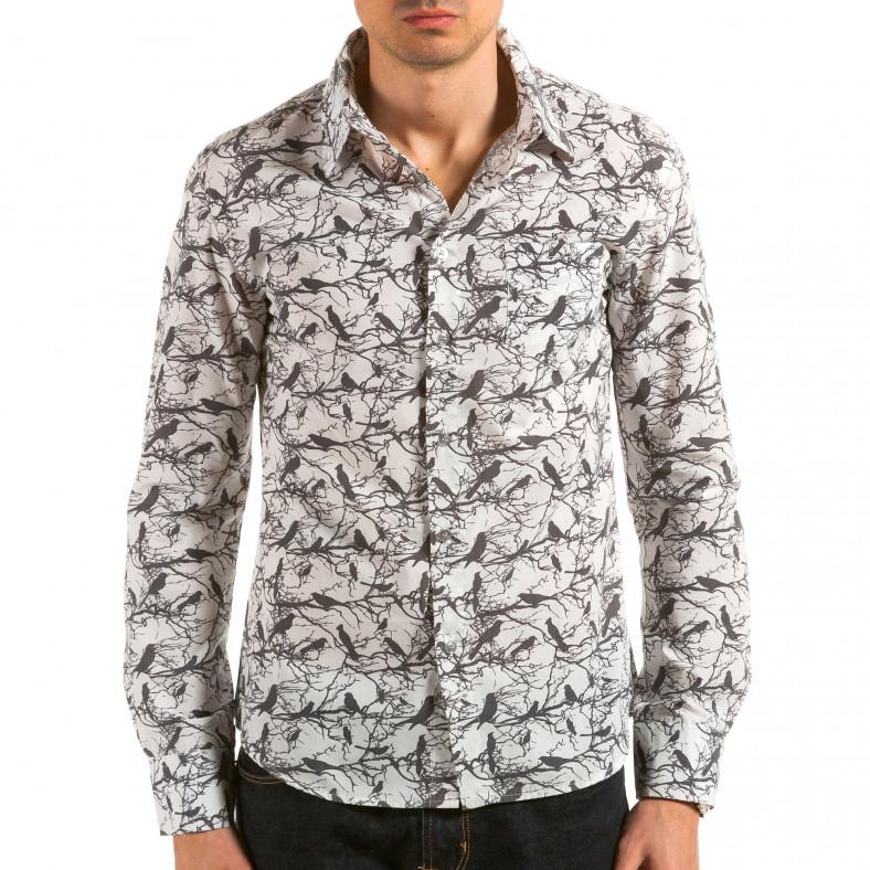 Ανδρικό λευκό πουκάμισο Catch Catch 4